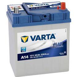 Akumulator 40Ah 330A P+ Varta Blue A14 Japan