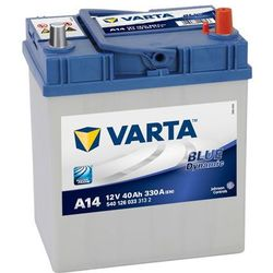 Akumulator 40Ah 330A P+ Varta Blue A14 Japan