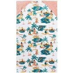 ręcznik ROXY - Saturday Sun Bright White Honolulu S (WBB9)