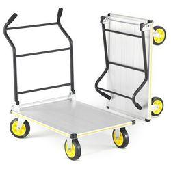 Składany wózek platformowy SWITCH, obciążenie 300 kg, 610x900 mm