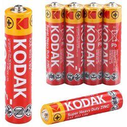 Baterie małe paluszki AAA R03 Kodak Zinc 4 sztuki cynkowo-węglowe