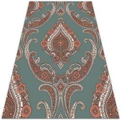 Nowoczesny dywan outdoor wzór Nowoczesny dywan outdoor wzór Paisley vintage