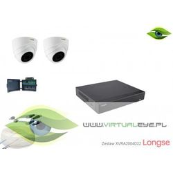 Zestaw do monitoringu AHD 1080P Longse XVRA2004D22