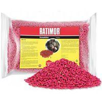 Środki na szkodniki, 1kg Trutka na szczury, myszy, gryzonie. Granulat Ratimor.