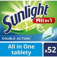 Kostki do zmywarek, Unilever SUNLIGHT Tabletki do zmywarki (668807) Darmowy odbiór w 20 miastach!