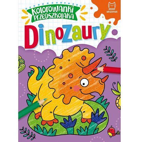 Kolorowanki, Kolorowanki przedszkolaka. Dinozaury