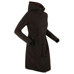 Płaszcz softshell bonprix czarny