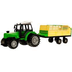 Traktor z przyczepą-rozrzutnik 666-52B