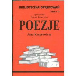 Biblioteczka Opracowań Poezje Jana Kasprowicza Wilczycka Danuta