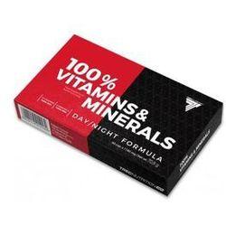 Trec 100% Vitamins & Minerals 60caps