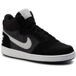 Buty NIKE - Court Borough Mid Se (Gs) 918340 007 Black/Piure Platinum/Cool Grey