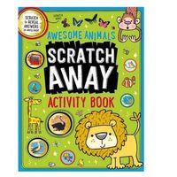 Książki do nauki języka, Scratch Away Awesome Animals ćwiczenia dla dzieci