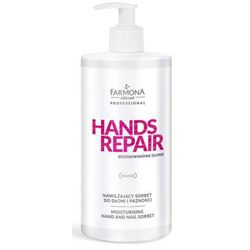 Farmona HANDS REPAIR Nawilżający sorbet do dłoni i paznokci