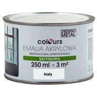 Farby, Emalia akrylowa Colours biała 0,25 l