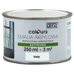 Emalia akrylowa Colours biała 0,25 l