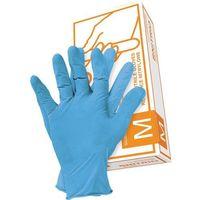Rękawice robocze, RĘKAWICE NITRYLOWE JEDNORAZOWE S - RNITRION Reis nitrylowe