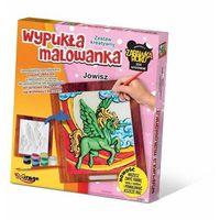 Kolorowanki, Zestaw kreatywny wypukła malowanka Jednorożec Jowisz - DARMOWA DOSTAWA OD 199 ZŁ!!!