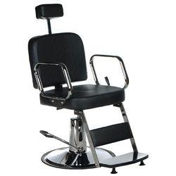 Fotel fryzjerski dla golibrody AXEL BD-2002 Czarny