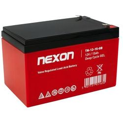 Akumulator żelowy NEXON 15-12 T2 (12V 15Ah)