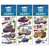 Naklejki, Naklejki Sticker BOO silver military