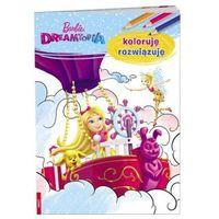 Książki dla dzieci, Barbie Dreamtopia Koloruję rozwiązuję (opr. miękka)