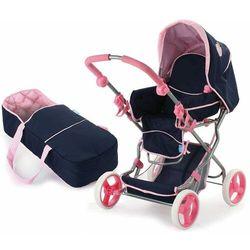 Wózek dla lalek Julia Classic Navy