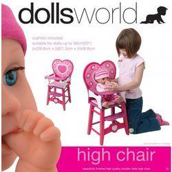 Peterkin Drewniane krzesło z oparciem