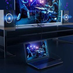 Baseus High Definition | Kabel przewód HDMI - HDMI 2.0 1080P/60Hz HD 18Gbps 10m - Czarny \ 10M