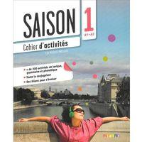 Książki do nauki języka, Saison 1 ćwiczenia + CD Audio poziom A1-A2 (opr. miękka)