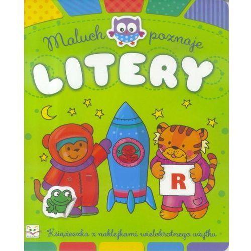 Książki dla dzieci, Maluch poznaje litery - Praca zbiorowa (opr. broszurowa)