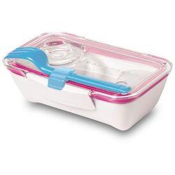 Pudełko na lunch Bento niebiesko-różowe