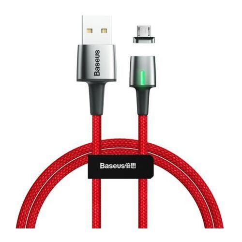 Smartbandy, Baseus Zinc Standard   Magnetyczny kabel USB - Micro USB Quick Charge 2.4A 1m