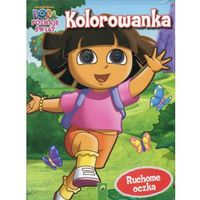 Kolorowanki, Kolorowanka Dora poznaje świat