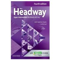 Książki do nauki języka, New Headway: Upper-Intermediate B2: Workbook + iChecker with Key