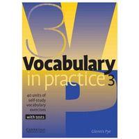 Książki do nauki języka, Vocabulary In Practice 3 Pre-Intermediate (opr. miękka)