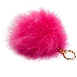 Brelok MICHAEL MICHAEL KORS - Charms Fur 32S8GF2K7F Rose Pink
