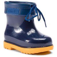 Kalosze dziecięce, Kalosze MELISSA - Mini Melissa Rain Boot Bb 32424 Yellow/Blue 53404