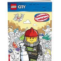 Kolorowanki, Lego City Kolorowanka z naklejkami