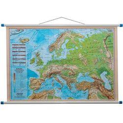 Europa mapa ścienna dwustronna polityczno - fizyczna 1:12 000 000