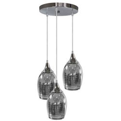LAMPA wisząca MARINA 33-60181 Candellux skandynawska OPRAWA szklana ZWIS kaskada srebrna
