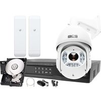 Zestawy monitoringowe, Rejestrator IP BCS BCS-NVR16045ME-II + 1x Kamera 2MPx BCS-SDIP5225-III + Akcesoria