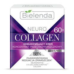 Bielenda Neuro Collagen odnawiający krem przeciwzmarszczkowy 60+ (Neuropeptide, 4x Collagen 3 Peptyd, Calcium) 50 ml