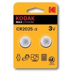 Baterie DL CR2025 KODAK Max Lithium (2 szt.)