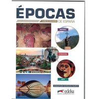 Książki do nauki języka, Epocas de Espana - Marco Sebastian Quesada (opr. miękka)
