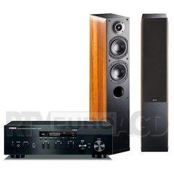 Yamaha MusicCast R-N402D (czarny), Indiana Line Nota 550 X (orzech) - produkt w magazynie - szybka wysyłka! Darmowy transport od 99 zł | Ponad 200 sklepów stacjonarnych | Okazje dnia!