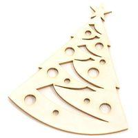 Ozdoby świąteczne, Świąteczna choinka - tekturkowa dekoracja