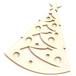 Świąteczna choinka - tekturkowa dekoracja
