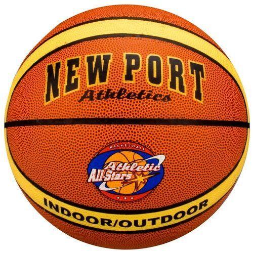 Koszykówka, New Port Piłka do gry w koszykówkę ze skóry PCV 16GF W -- 50% / (wyprzedaże) (-50%)