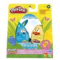 Ciastolina, Play-Doh - Ciastolina Stemple wielkanocne z niebieskim zajączkiem 31140 - Zestaw z niebieskim zajączkiem