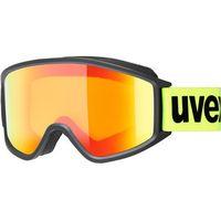 Okularki pływackie, UVEX g.gl 3000 CV Gogle, black mat/Colorvision orange storm 2019 Gogle narciarskie